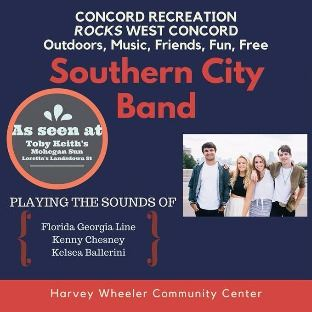 Southern City Band Flyer